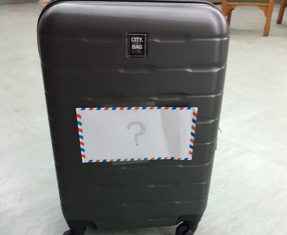 escape suitcase